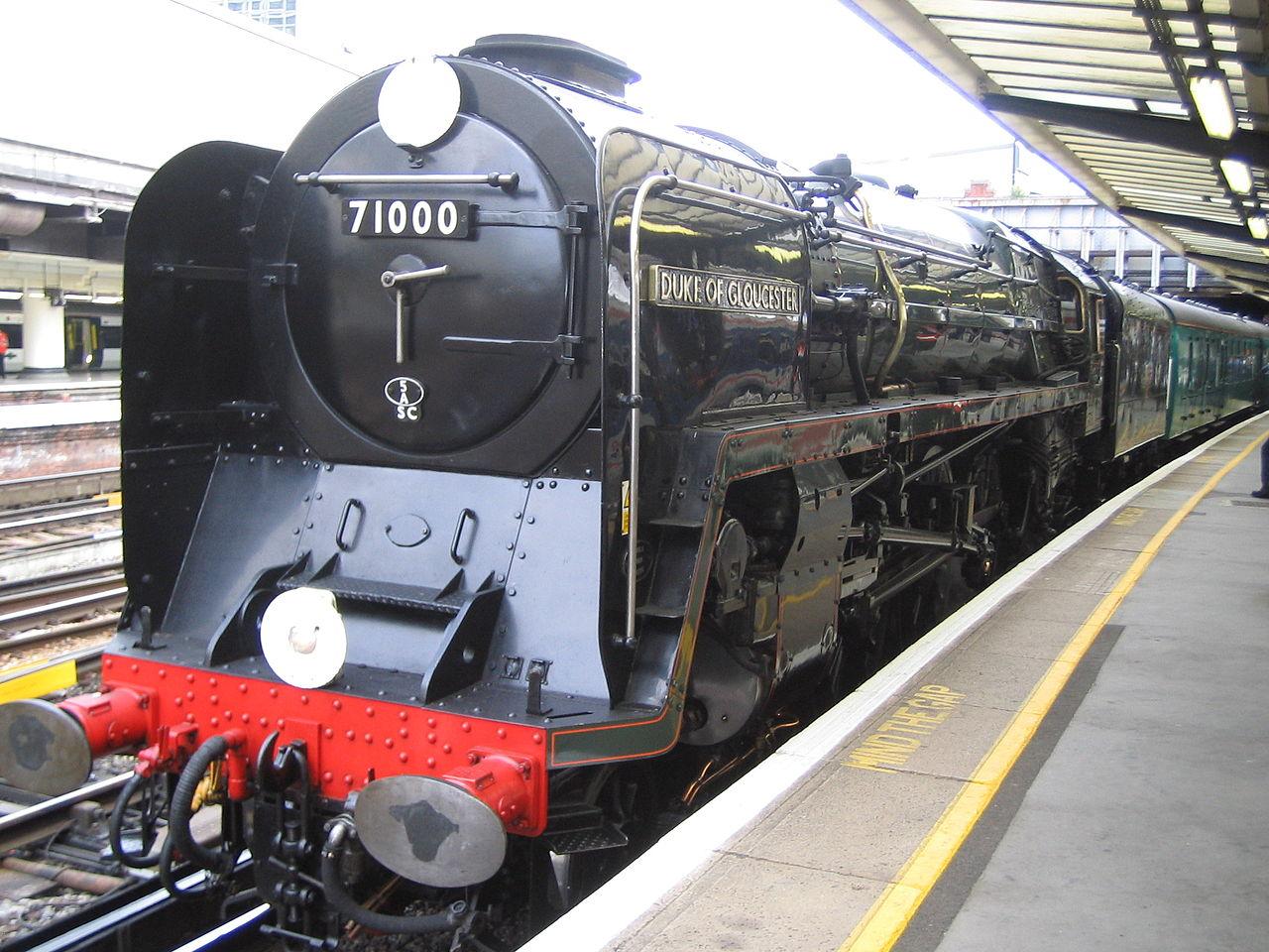 BR Standard Class 8 - Duke of Gloucester - Britische Bahn Wiki
